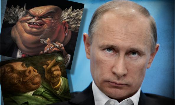 LOS BANQUEROS OCCIDENTALES LE DECLARAN LA GUERRA A RUSIA