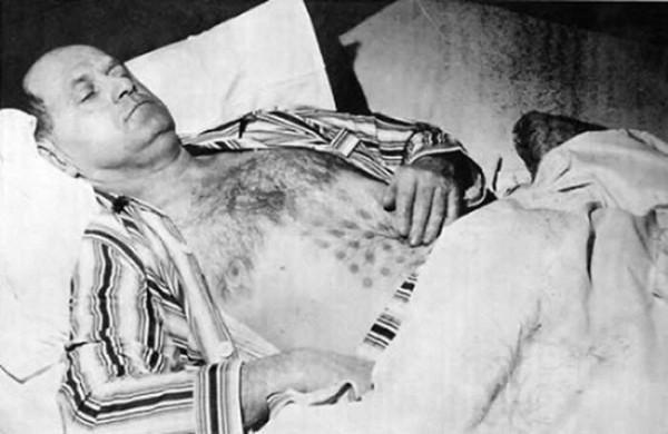 Que le ocurrió a este hombre en 1967, tal vez un ovni