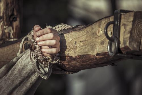 Evangelio de San Bernabe, Jesús no fue crucificado.