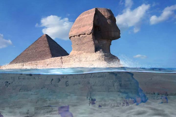 Gran Esfinge, mas antigua de lo que se pensaba