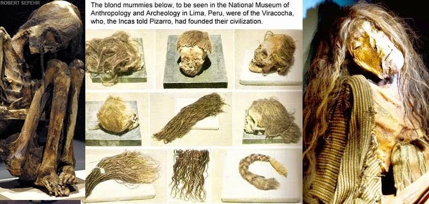 aryan mummy blonde1 - Los Antiguos Gigantes del Nuevo Mundo