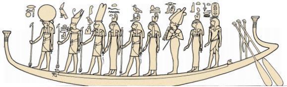 Grupo divino Enéada –Mito de la creación.