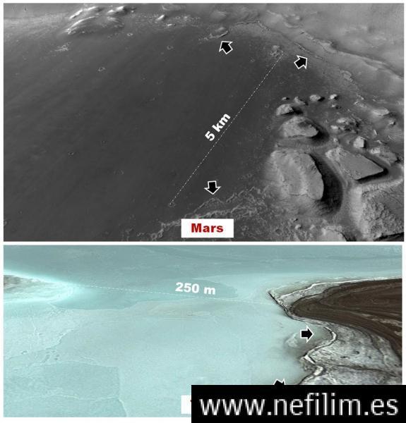 Reciente estudio muestra evidencias de antigua vida en Marte