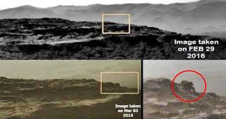 Increíble artefacto hallado en Marte