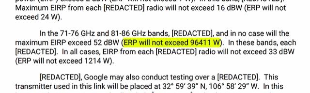 Google está construyendo un transmisor de radio de 100 KW en una pista de aterrizaje espacial y nadie sabe para qué