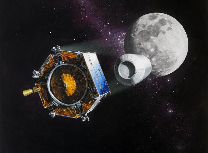 NASA bombardea la luna con bomba de 2 toneladas. Que quieren destruir?