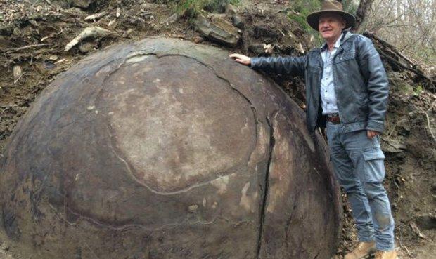 Hallan una esfera gigante que podría demostrar la existencia de una antigua civilización