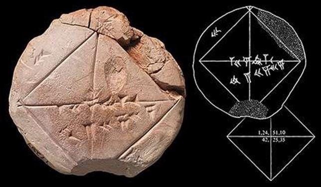 Los estudiantes de matemáticas babilonios conocían el Teorema de Pitágoras 1300 años antes de Pitágoras