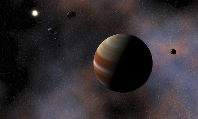 Tyche, el alejado y fascinante planeta del Sistema Solar que se esconde en al nube de Oort.