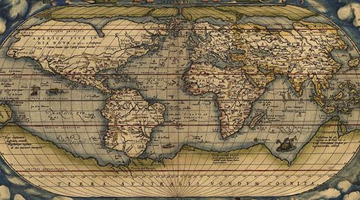 10 Mapas antiguos que no deberían existir