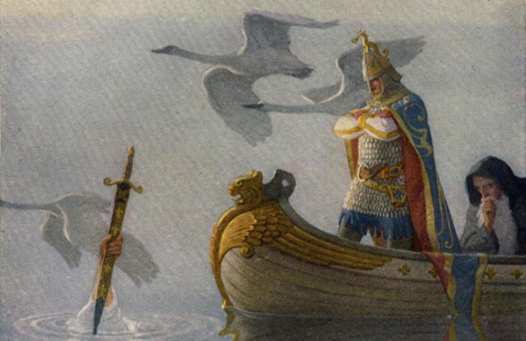 En busca de la tumba del legendario rey Arturo