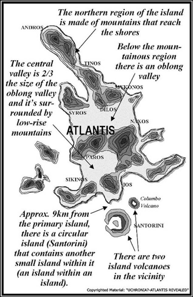Aparece lugar tangible cuyas características físicas encajan totalmente con la Atlántida de Platón