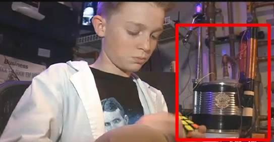 Un niño de 13 años inventa un dispositivo de energía libre inspirado por Nikola Tesla