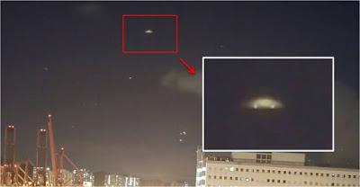 Hong Kong: Internautas capturan fotos de un 'OVNI' en el cielo por encima de Tsing Yi