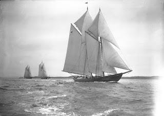 La nave fantasma de Northumberland.