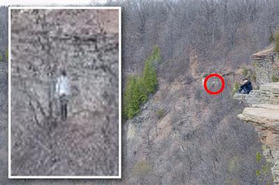 Canadá: Se toma foto en las montañas y aparece fantasma