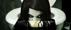 Espíritus y seres terroríficos que acechan en el baño