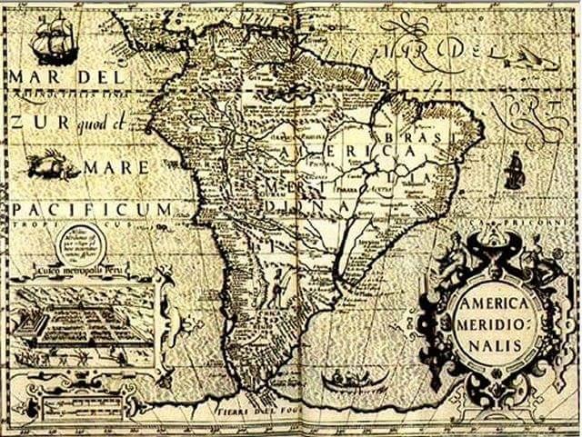 Mapas antiguos realizados de manera enigmática