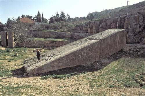 El misterio de los megalitos de baalbek