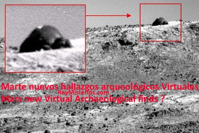 Marte nuevos hallazgos arqueologicos Virtuales
