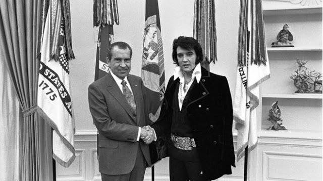 El día que el presidente de EE.UU. Richard Nixon convirtió a Elvis Presley en agente encubierto