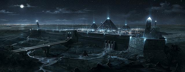 Las Pirámides: Centrales de Energía