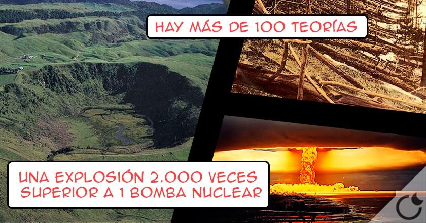 ¿Qué fué lo que CAYÓ DEL CIELO en 1908 que DESTRUYO 2200 KM Y MILLONES de árboles?: TUNGUSKA