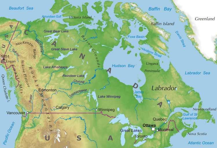 Canadá: Alta extrañeza en las montañas del norte