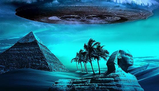 Llegada de los dioses: Antiguo texto egipcio revela a OVNIS en masa.