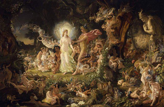 La Misteriosa Y Mágica Reina De Elfame: Diosa Pagana Y Reina De Las Hadas