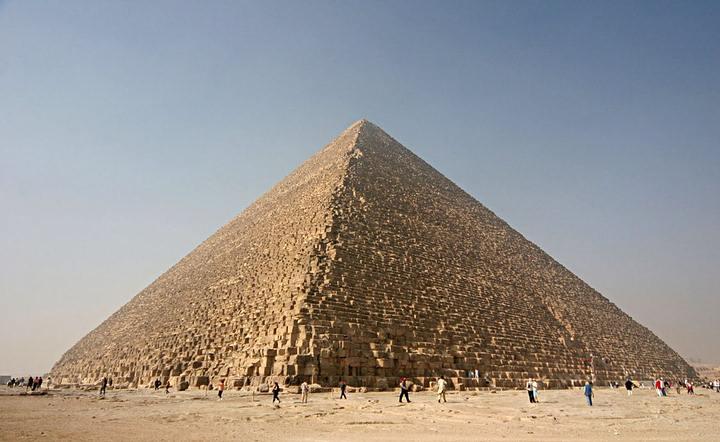 La piramide es mas perfecta de lo que se creía