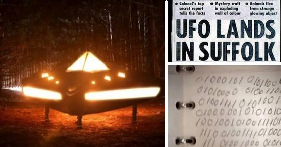 Mensaje del año 8100 puesto en la mente de un militar al tocar un OVNI.