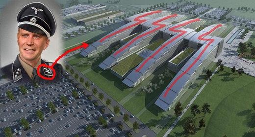 Las casualidades no existen: la nueva sede de la OTAN evoca simbología Nazi