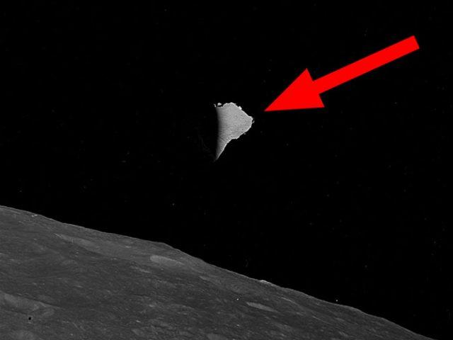 ¿Qué demonios hace esto en la Luna?