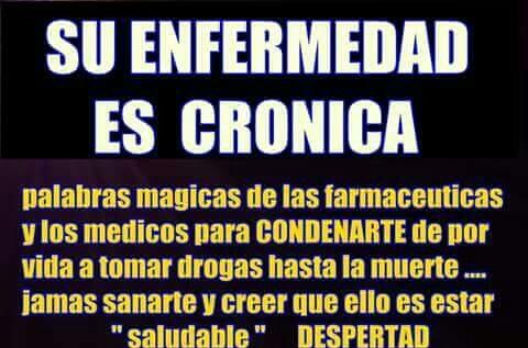 Su enfermedad es cronica?