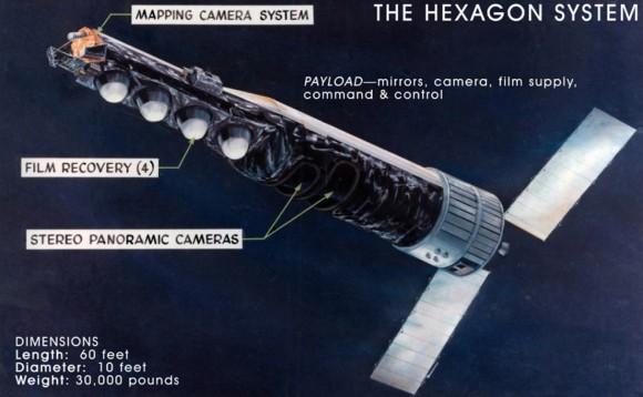 Hubble es una replica de la serie Keyhole de satélites espias de EEUU