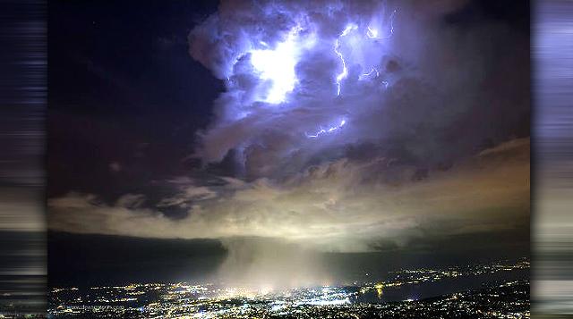 Nubes extrañas en el CERN: Portales a otra dimensión se abren por encima del LHC?