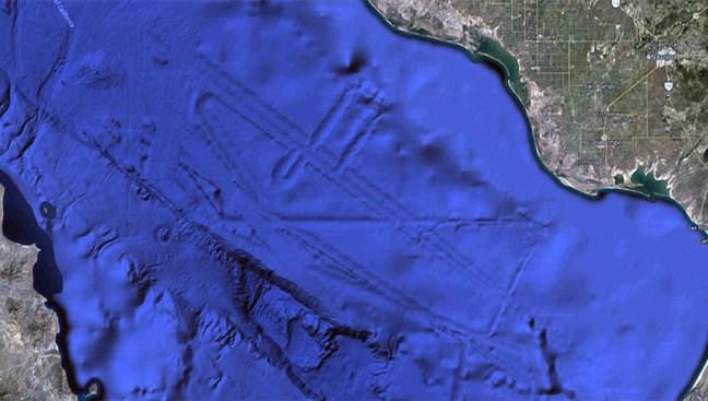 ¿Hay una ciudad en el fondo del golfo de México?