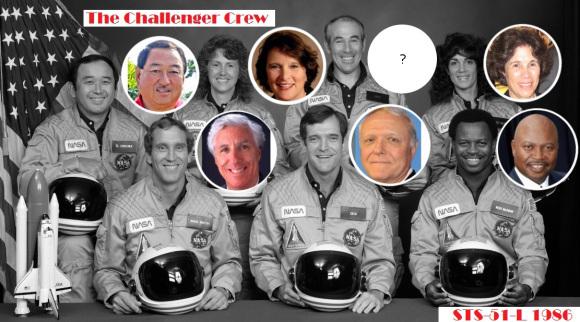 La tripulación del Challenger sigue viva, misión STS-51.