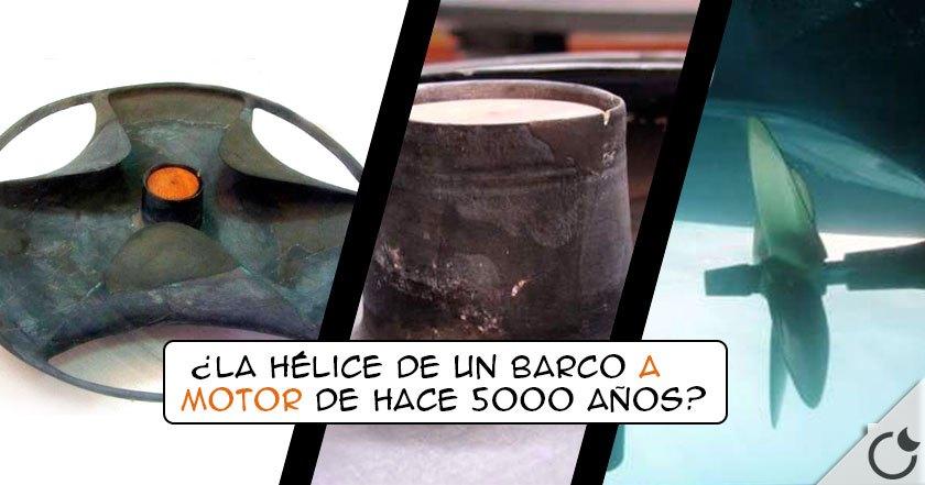 HÉLICE DE #SABU: ¿Parte de UN MOTOR ELÉCTRICO EGIPCIO de hace 5000 años? Parece que SI
