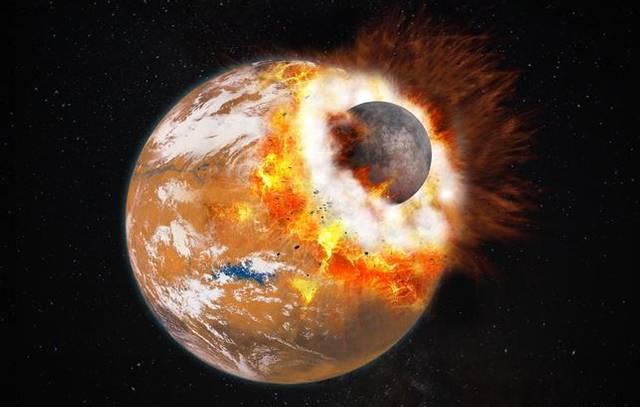 Marte pudo tener una tercera luna que fue destruida por el propio planeta