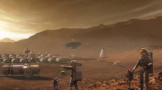 Un retirado marine estadounidense afirma que pasó más de 15 años en el espacio y en Marte protegiendo cinco colonias humanas