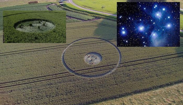 Aparece Crop Circle en Países Bajos 4 de julio 2016, la Constelación de las Pleyades.