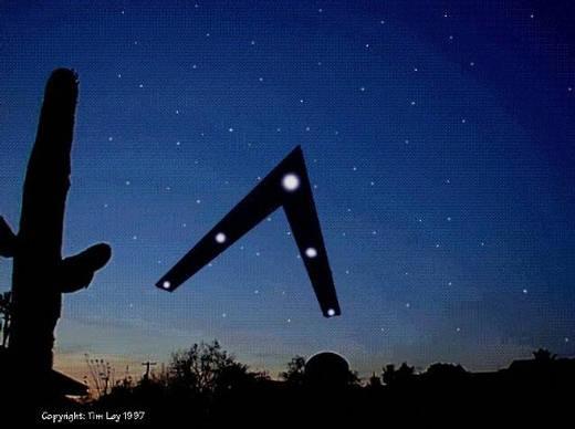 El impresionante avistamiento de las luces de Phoenix