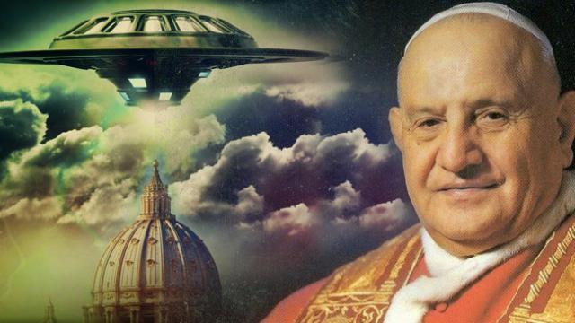 El papa Juan XIII se reunió y habló 20 minutos con un extraterrestre antes de morir