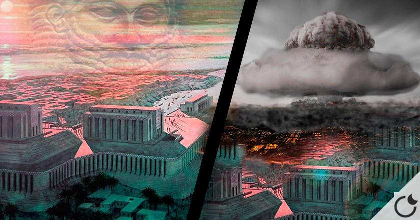 Fue SUMERIA arrasada por BOMBAS NUCLEARES hace 4000 años? Parece que SI