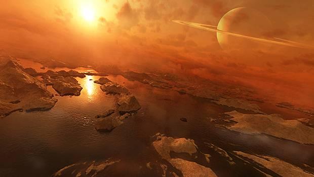 Simulaciones apoyan la posibilidad de vida no basada en agua en Titán