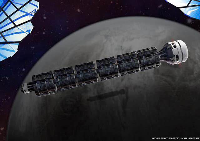 Conozca al Solar Express: La nave espacial que podría llevar al hombre a Marte en 37 horas