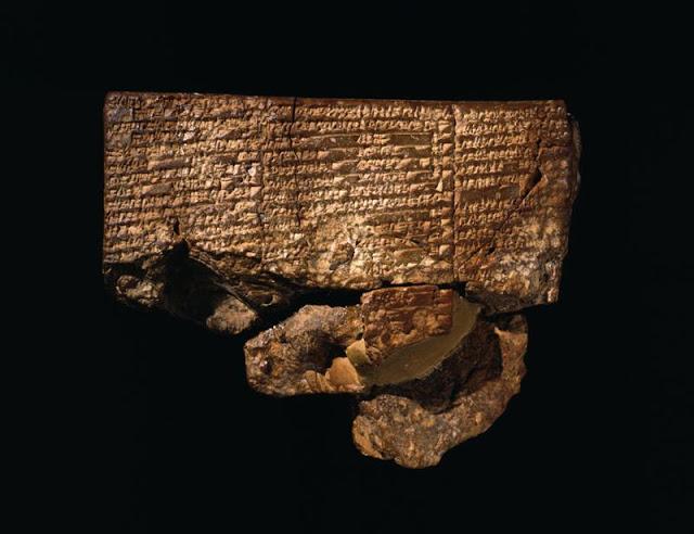 La tableta sumeria del antiguo #Nippur posee la descripción más antigua de la Gran Inundación