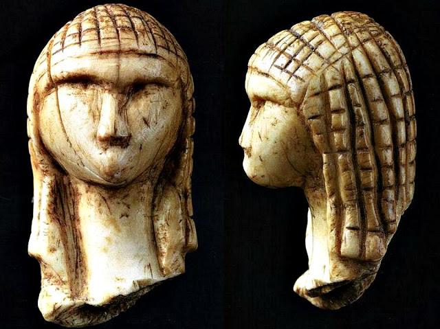Conozca a La Dama de #Brassempouy, una misteriosa estatuilla de hace más de 20.000 años